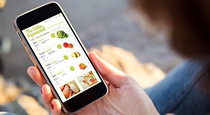 Mittlerweile lassen sich alle Lebensmittel auch online bestellen