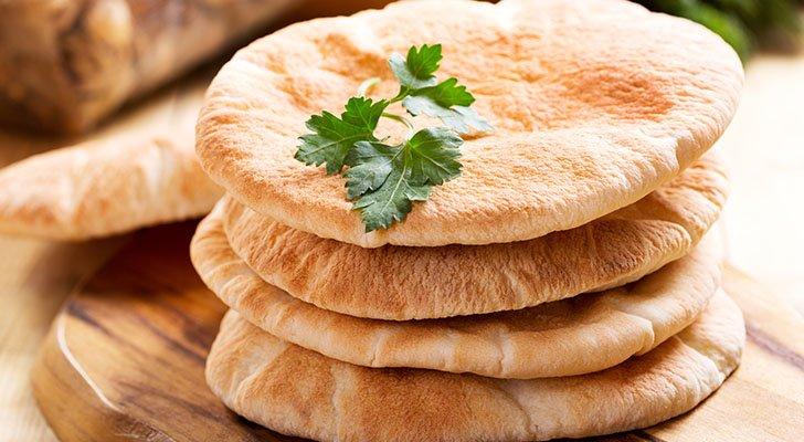 Beim Gyros wird das namensgebende Pita-Brot verwendet